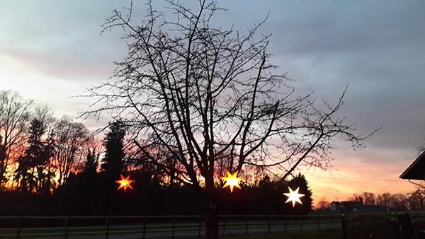 Ein Licht am Himmelszelt